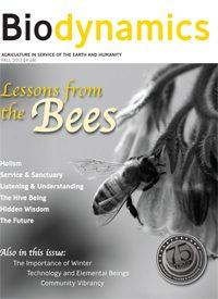 Cover For Biodynamics Journal