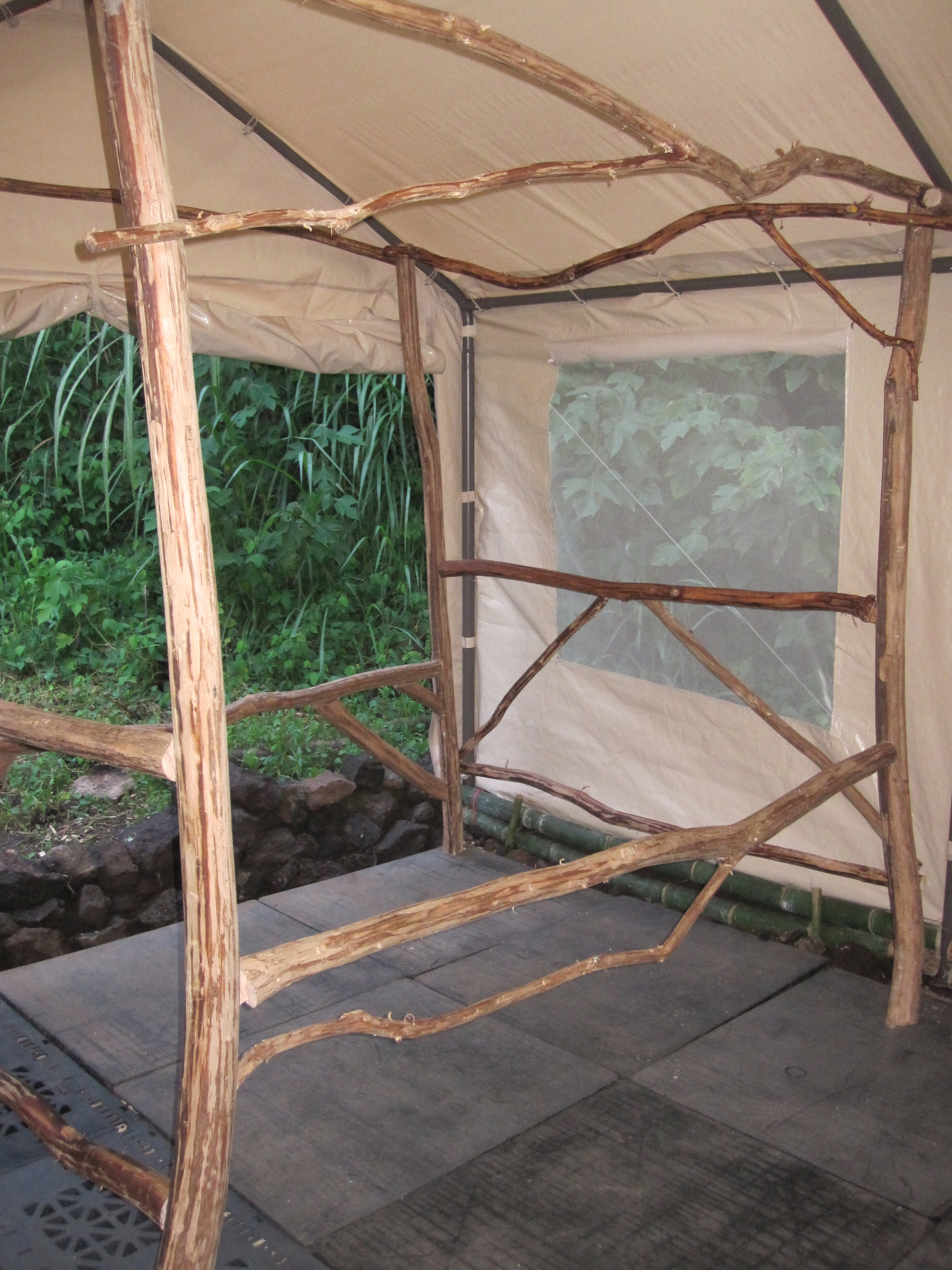 Strawberry Guava & Bamboo Bed Hawaii Eco Living